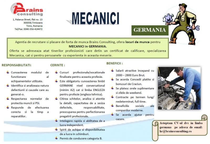 MECANICI in GERMANIA