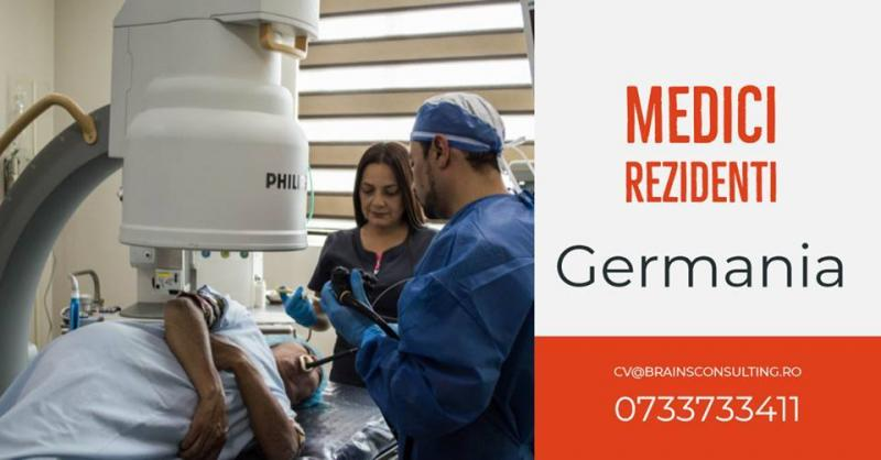 ‼️MEDICI REZIDENTI in GERMANIA‼️