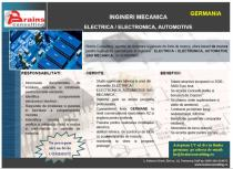 INGINERI MECANICA ELECTRICA / ELECTRONICA, AUTOMOTIVE