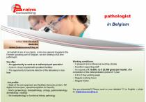 Pathologist  in Belgium